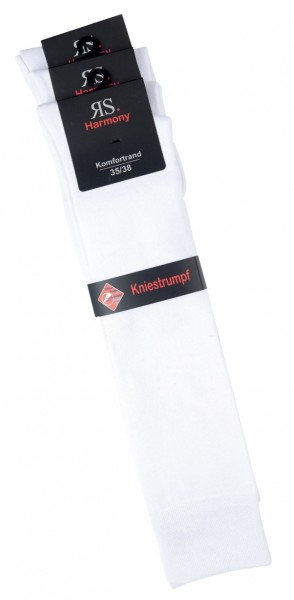 "EXTRA - Kniestrumpf ""weiß"" 3er Pack"