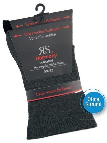 MEN RS HARMONY SENSIBEL DUNKEL - Ganz ohne Gummi - 2 Pack