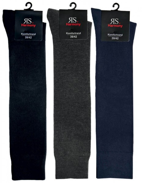 EXTRA- KNIESTRUMPF3 COLORS - 3 farbig - 3 Pack